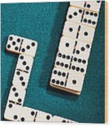 Domino Wood Print