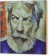 Donald  Wood Print