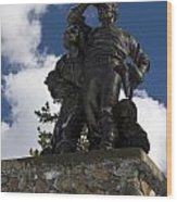 Donner Party Monument  Wood Print
