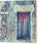 Door To Nowhere Wood Print