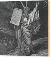 Dore, Paul Gustave 1832-1883. La Sainte Wood Print