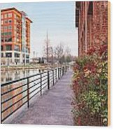 Downtown Greenville Sc Wood Print