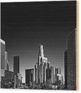 Downtown Los Angeles Wood Print