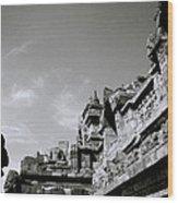 Dramatic Borobudur Wood Print
