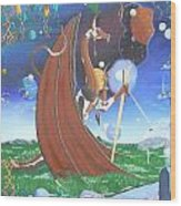 Dreams And Fantasy II Wood Print