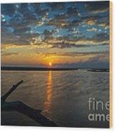 Dreamy Sunset 02 Wood Print