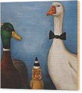 Duck Duck Goose Wood Print