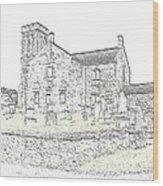 Dunlop Kirk IIi Wood Print