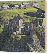 Dunluce Castle, Bushmills Wood Print