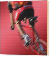 Dynamic Racing Cycle Wood Print