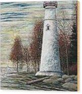 Eagle Bluff Light Wood Print