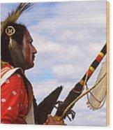 Eagle Claw Wood Print