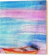 Early Morning Wood Print by Duygu Kivanc