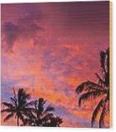 Easter Island Sunrise 2 Wood Print