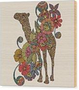 Easy Camel Wood Print