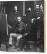 Edouard Manet (1832-1883) Wood Print