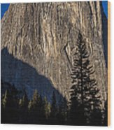 El Capitan  Wood Print
