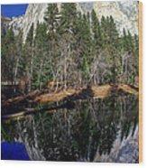 El Capitan Reflection Wood Print
