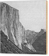 El Capitan Wood Print by Thomas Leon