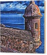El Morro Fortress Wood Print