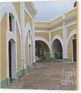 El Morro Historical Site Wood Print
