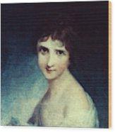 Eleanor Parke Custis Lewis(1779-1852) Wood Print