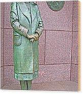 Eleanor Roosevelt -- 1 Wood Print by Cora Wandel