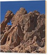 Elephant Rock Valley Of Fire State Park Nevada Wood Print