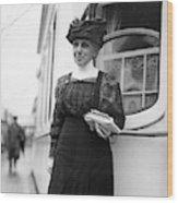 Ella Flagg Young (1845-1918) Wood Print