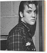 Elvis Presley 1956 Wood Print