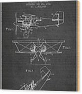 Emergency Flotation Gear Patent Drawing From 1931 Wood Print by Aged Pixel