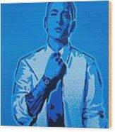 Eminem 8 Mile Wood Print