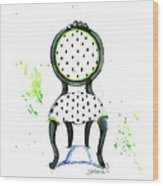 Emma Chair Wood Print