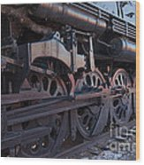 Engine 5629 In The Colorado Railroad Museum Wood Print