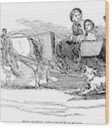 England Royal Sledge, 1854 Wood Print