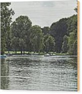 English Garden Munich Germany Wood Print