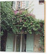 Entrances Of Provence Wood Print