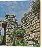 Entry To Saint John's Basilica Grounds In Selcuk-turkey Wood Print