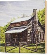 Erbie Homestead Wood Print by Marty Koch