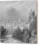 Erie Canal Little Falls Wood Print