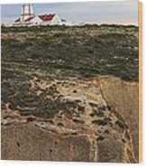 Espichel Cape Lighthouse Wood Print