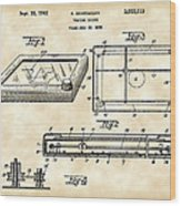 Etch A Sketch Patent 1959 - Vintage Wood Print