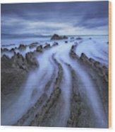 Eternal Lines Wood Print