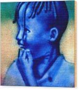 Ethio Boy Wood Print