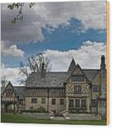 Ewing Manor Wood Print
