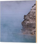 Excelsior Geyser Crater Wood Print