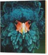 Exotic Birds Wood Print