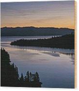 Exploring Lake Tahoe Wood Print