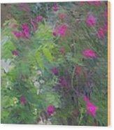Expression Of Impressionism Wood Print