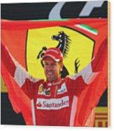F1 Grand Prix of Italy Wood Print